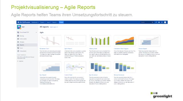 Greenlight goes agil - Projektvisualisierung