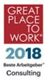 Auszeichnung als Bester Arbeitgeber 2018