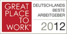 Auszeichnung als bester Arbeitgeber 2012