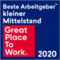 Auszeichnung als bester Arbeitgeber 2020