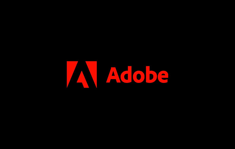 Partnerschaft mit Adobe - Logo